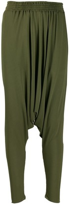 Jean Paul Gaultier Pre-Owned 1990's dropped crotch trousers