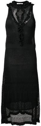 Altuzarra knitted flared midi dress