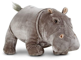 Melissa & Doug Plush Hippo Stuffed Animal