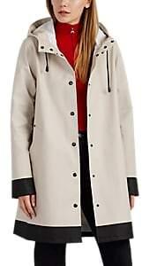 Stutterheim Raincoats Women's Mosebacke Colorblocked Cotton-Blend Raincoat - Sand
