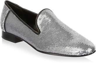 Diane von Furstenberg Women's Leiden Metallic Sequin Loafers