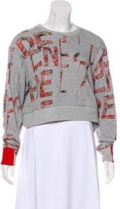 Preen by Thornton Bregazzi Oversize Logo Sweatshirt