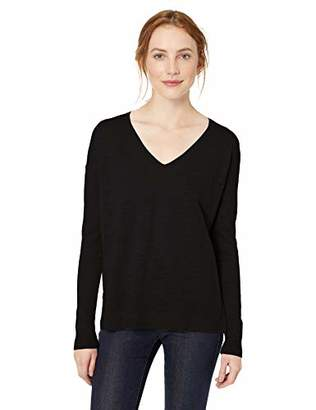 Amazon Brand - Daily Ritual Women's Lightweight V-Neck Sweater
