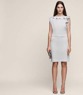 Reiss Tyra Ruffle-Detail Dress
