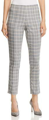 Kenneth Cole Glen Plaid Skinny Pants