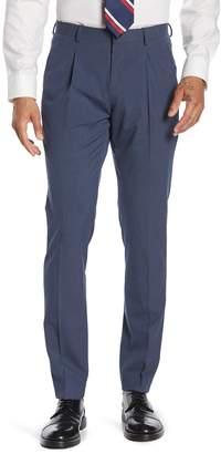 14th & Union Navy Single Pleat Suit Pants