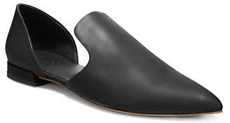 Vince Classic Leather d'Orsay Flats