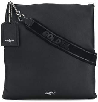 Golden Goose squared logo shoulder bag