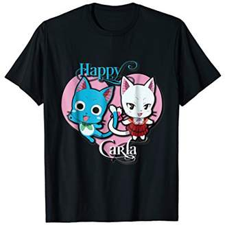Fairy Tail Happy and Carla t-shirt