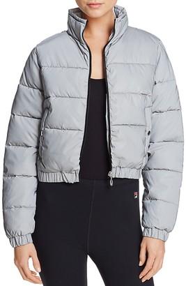 FILA Cassandra Puffer Jacket $150 thestylecure.com