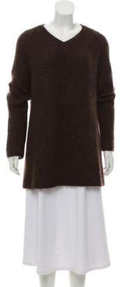 Miu Miu Oversize V-Neck Sweater