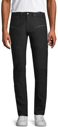 Akademiks Classic Fit Flat Front Pants