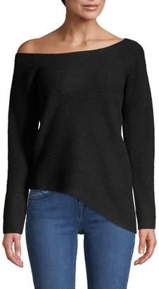 Raffi Off-Shoulder Cashmere Sweater