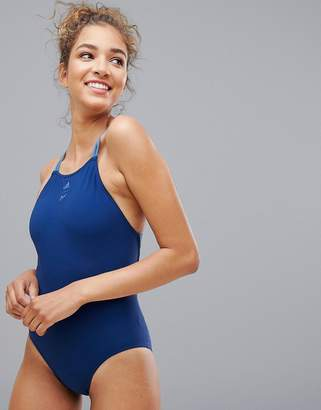 adidas Parley Swimsuit In Navy