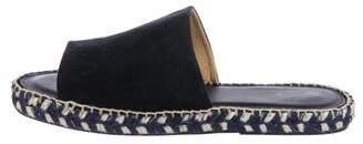 Calypso Espadrille Slide Sandals