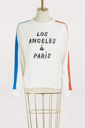 Clare Vivier Los Angeles a Paris sweatshirt