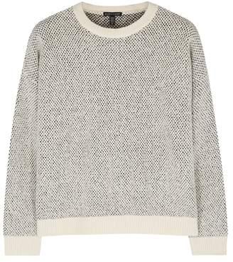 Eileen Fisher Textured-knit Cotton