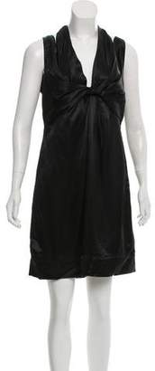 Prada Satin Sheath Dress w/ Tags