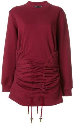 Y/Project Y / Project drawstring slim sweatshirt