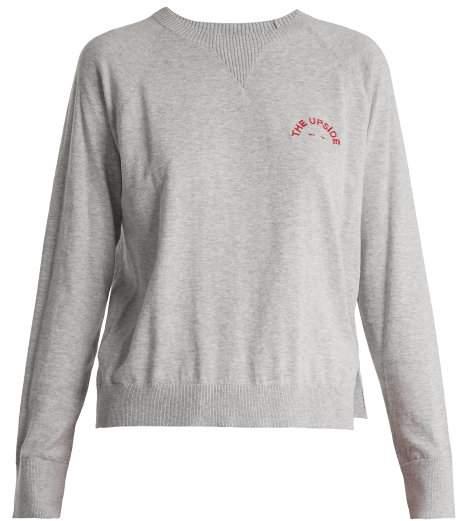 Wilder cotton-jersey sweatshirt