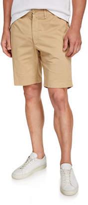 Neiman Marcus Men's Flat Front Bermuda Shorts
