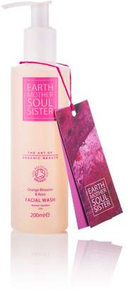 EARTH MOTHER SOUL SISTER - Orange Blossom & Rose Facial Wash