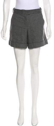 Max Mara 'S Virgin Wool Mini Shorts