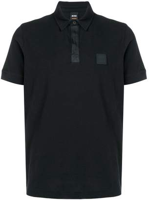 HUGO BOSS logo short-sleeve polo top