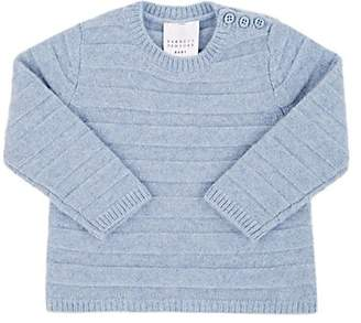 Barneys New York Infants' Striped Cashmere Sweater - Blue