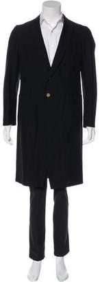 Dries Van Noten Woven Lightweight Coat