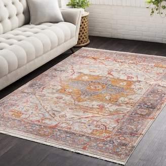 Three Posts Mendelsohn Oriental Vintage Persian Traditional Red/Orange Area Rug