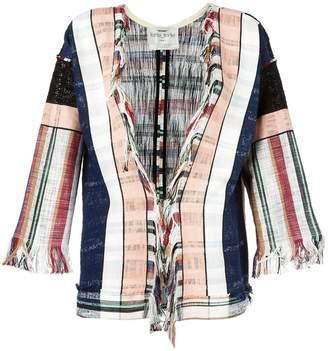 Forte Forte woven stripe jacket
