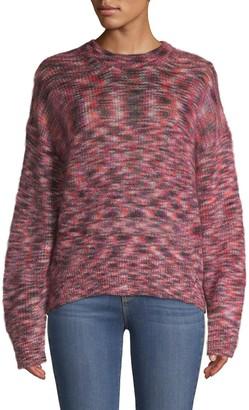 IRO Printed Long-Sleeve Sweater