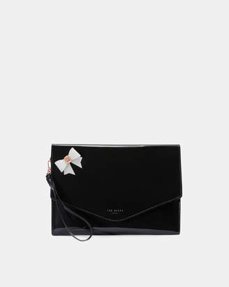 Ted Baker ESTHER Bow envelope iPad pouch