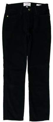 Frame Mid-Rise Corduroy Pants
