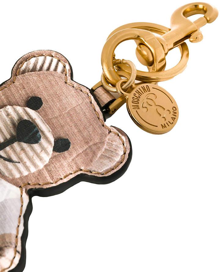 Moschino toy bear key ring