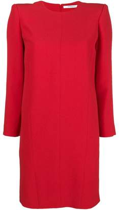 Givenchy structured long-sleeve mini dress