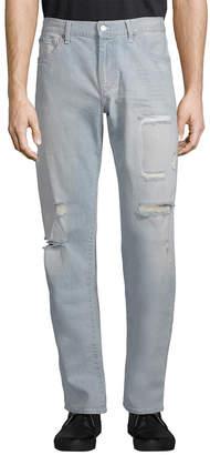 Armani Exchange Distress Straight-Leg Pant