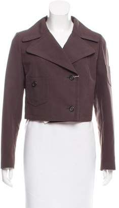Anna Molinari Cropped Button-Up Jacket