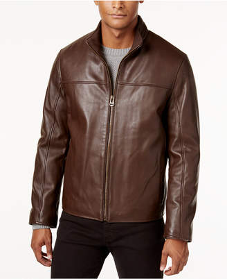Cole Haan Men Leather Jacket