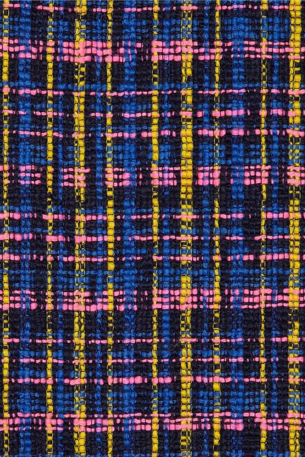 Erdem Dinah wool-blend tweed skirt