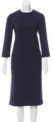 M.Martin Wool-Blend Felt Dress w/ Tags