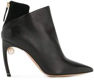 Nicholas Kirkwood Mira Pearl ankle boots