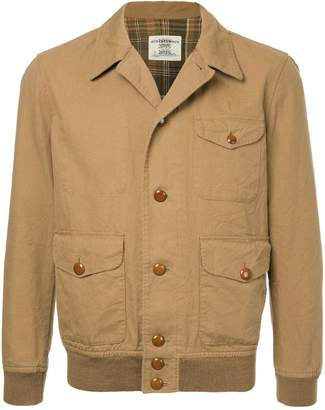 Kent & Curwen three pocket shirt jacket