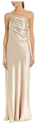Issue New York Satin Beige Gown