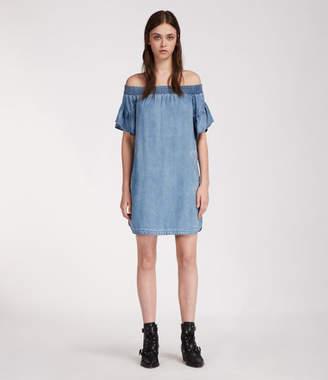 AllSaints Adela Chambray Dress