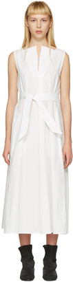 Lemaire White Flared Dress $860 thestylecure.com