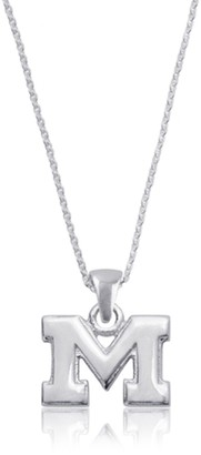 Unbranded Women's Dayna Designs Michigan Wolverines Pendant Necklace
