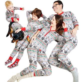 Star Wars Shukqueen Grey Matching Christmas Family Pajamas Set Sleepwear  Nightwear 3ffe45196