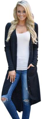 Realdo Clearance Sale, Fashion Casual Womens Ladies Loose Long Sweater Knitted Cardigan Outwear Jacket Coat